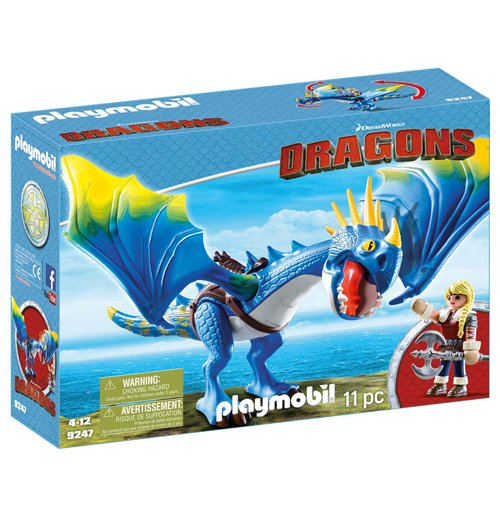 Image of Playmobil 9247 - Dragons - Astrid E Tempestosa