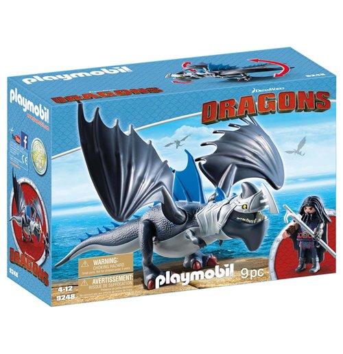 Image of Playmobil 9248 - Dragons - Drago Con Artigliotonante Corazzato