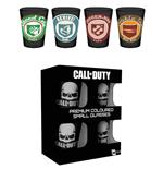 Call of Duty Set 4 verres à liqueur Premium Perks
