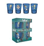 Fallout Set 4 verres à liqueur Premium Vault Boy
