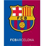Poster Barcelona Crest