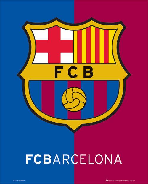 Image of Poster Barcelona Crest