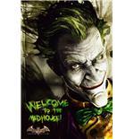 Poster Batman Arkham Asylum Joker