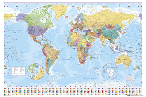 poster-world-map