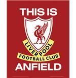 poster-liverpool-this-is-anfield, 2.71 EUR @ merchandisingplaza-de