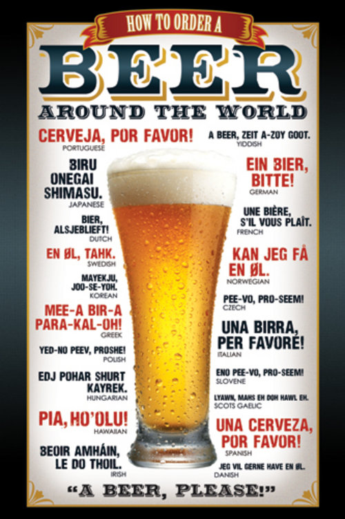Image of Poster Beer