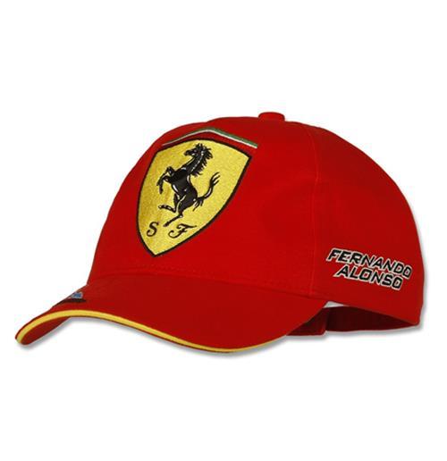 Ferrari Cap Alonso Signature Red