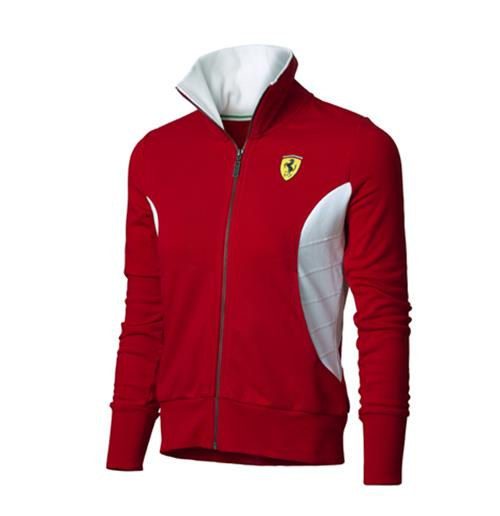 Offerta: Ferrari Women Zipper Sweatshirt Red