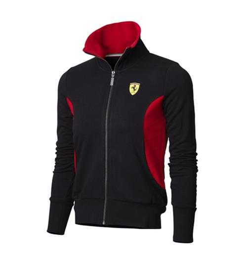 Offerta: Ferrari Women Zipper Sweartshirt Black