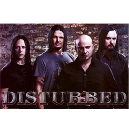 Image of Poster Disturbed-Band