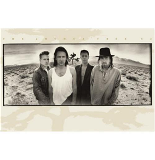 Pôster U2-Desert