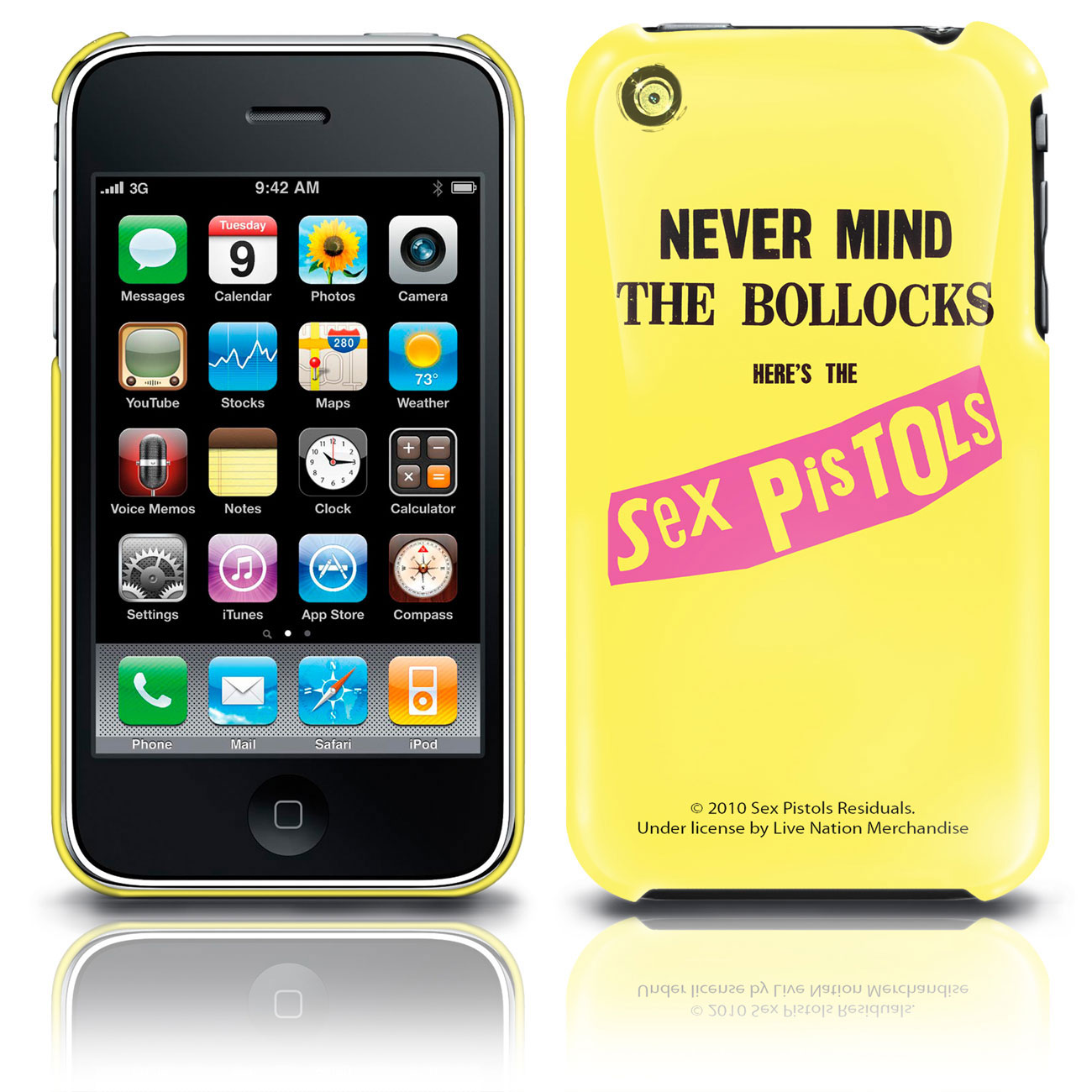 Image of Cover iPhone 3G/3GS  - Never Mind Sex Pistols Prodotto ufficiale Emi Music