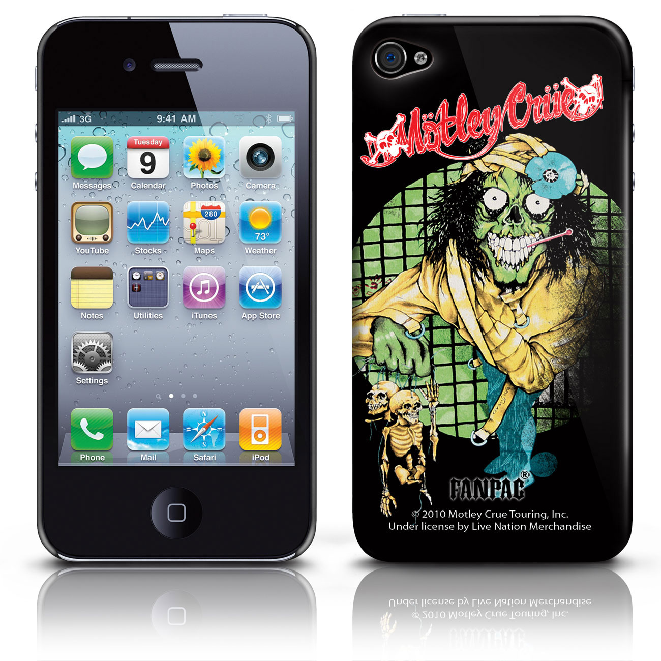 Image of Cover iPhone 4G  - Dr Anniversary Motley Crue Prodotto ufficiale Emi Music