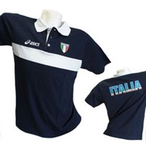 Image of Italia Volley Polo Fun Blu