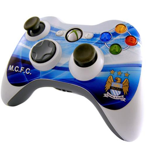 Image of Cover Skin Controller Xbox 360 Manchester City