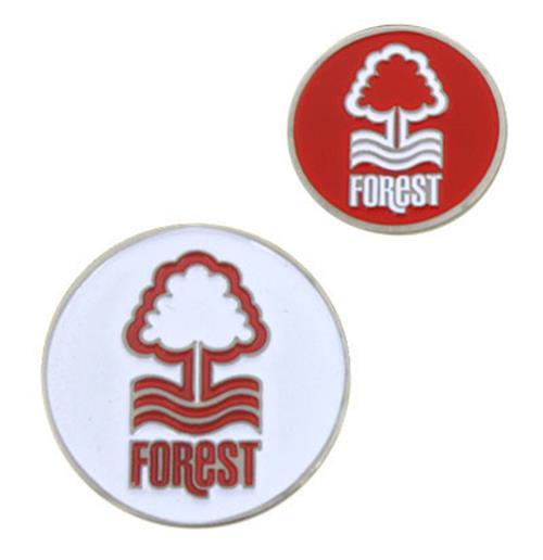 Marcador de bolas de golfe Nottingham Forest