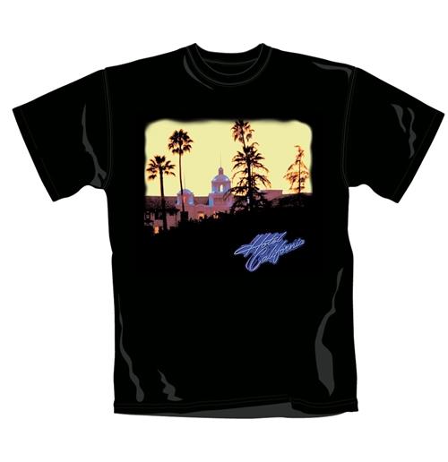 Image of T-shirt The Eagles Hotel California. Maglia ufficiale Emi Music