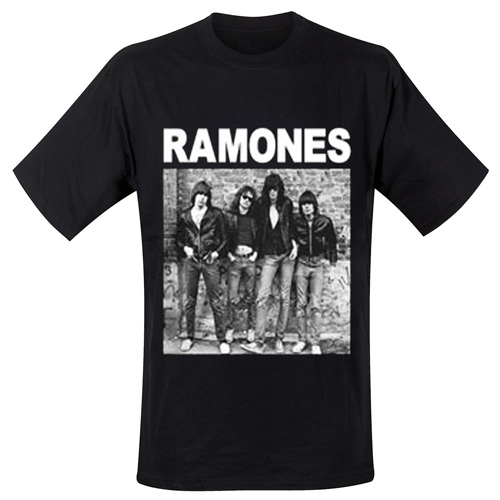 Ramones TShirt Ramones Design First Album
