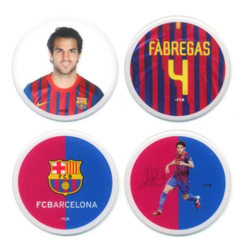 Image of Set Adesivi Barcellona Fabregas
