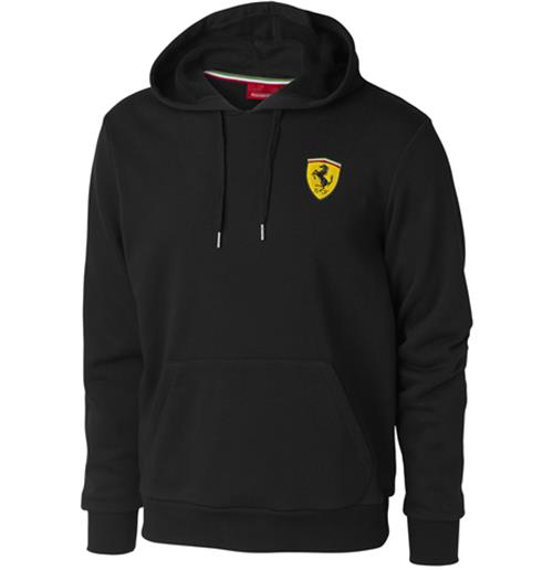Offerta: Ferrari Mens Hooded Sweatshirt Black