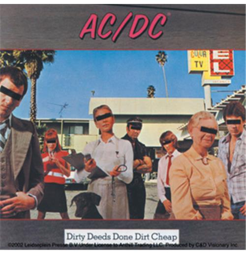 Image of Adesivo AC/DC - Dirty Deeds