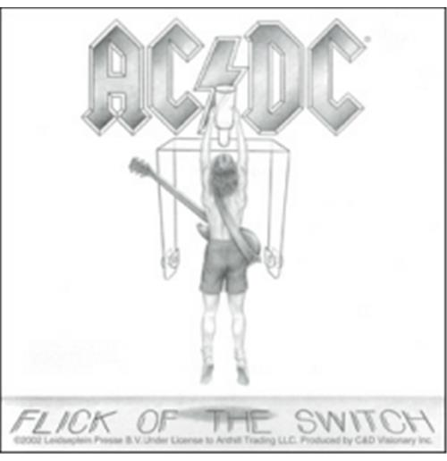 Image of Adesivo AC/DC - Flick Of The Switch
