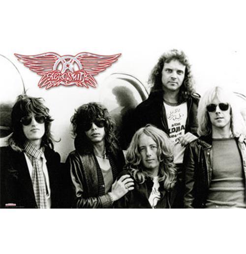 Image of Poster Aerosmith Aeroplane