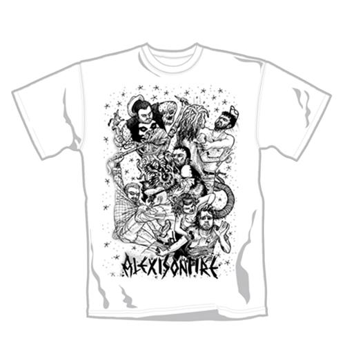 Image of T-shirt Alexisonfire Fight. Maglia ufficiale Emi Music