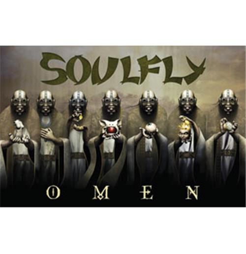 Bandeira Soulfly - Omen