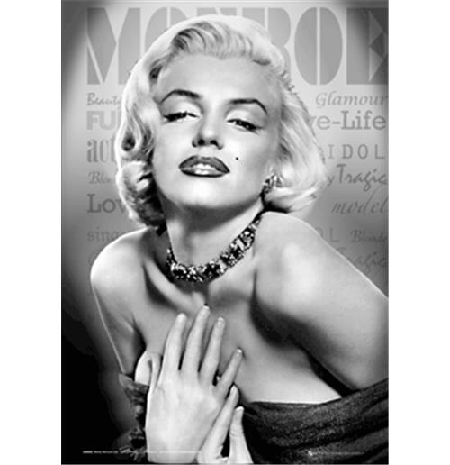poster-3d-marilyn-monroe-glamour