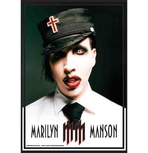 bandeira-marilyn-manson-mm-logo