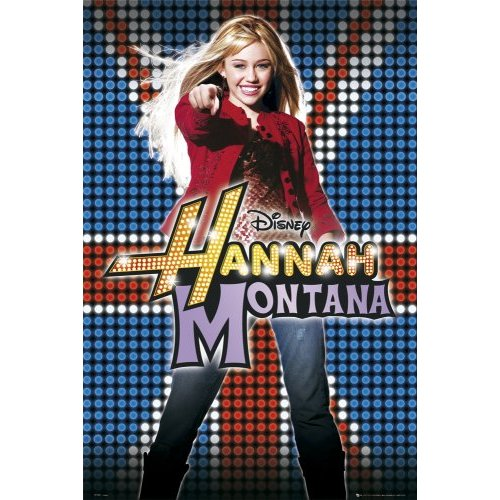 Image of Poster Hannah Montana Uk