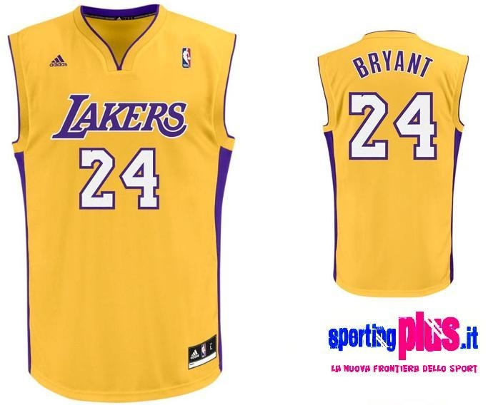 Maglia Basket Los Angeles Lakers by A...