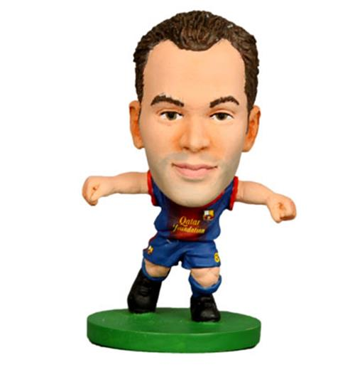Image of Action Figure Barcellona SoccerStarz Iniesta