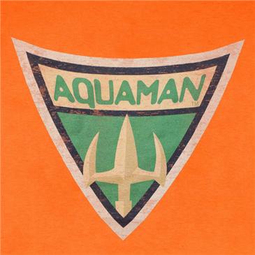 Camiseta Aquaman Symbo...