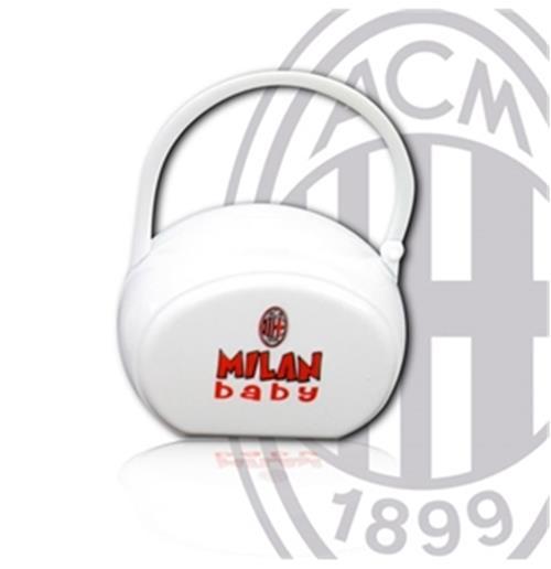 Porta chupeta AC Milan