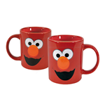 1 rue Sésame mug porcelaine Elmo