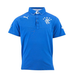 2013-14 Rangers Puma Polo Shirt (Blue)