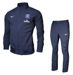 2013-14 PSG Nike Woven Tracksuit (Navy)