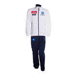 2013-14 Napoli Official Polyester Tracksuit (White)