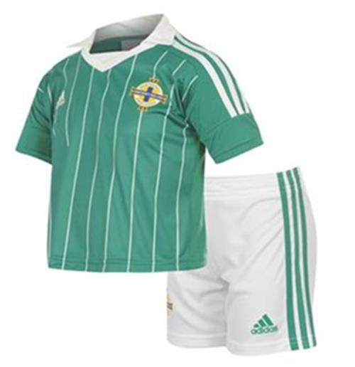 201213 Northern Ireland Adidas Home Mini Kit