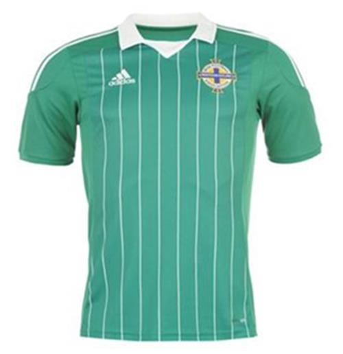 201213 Northern Ireland Adidas Home Football Shirt