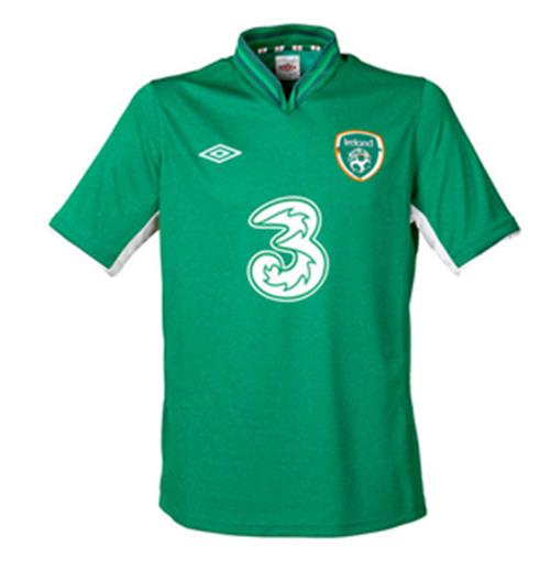 201213 Ireland Home Umbro Football Shirt (Kids)