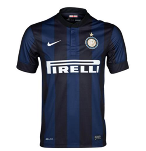 2013-14 Inter Milan Home Nike Football Shirt