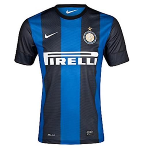 2012-13 Inter Milan Nike Home Football Shirt