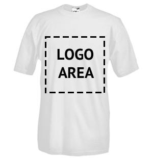 Image of T-shirt girocollo manica corta con stampa flex da intaglio