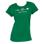 T-shirt Irish Yoga St. Patrick's Day