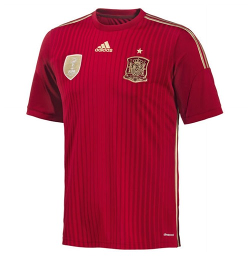 Acquista Maglia Spagna 2014-15 Home World Cup Originale
