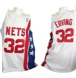 New York Nets Canotta Hardwood Classic Julius Erving