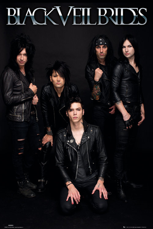 Poster Black Veil Brides Band